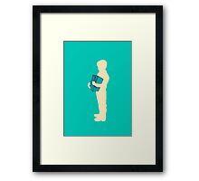 You can't take me with you Framed Print