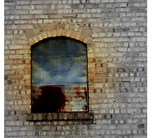 Old Warehouse Window Photographic Print