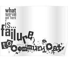 communicate Poster
