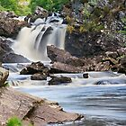 Rogie Falls by Kirsty Hodge
