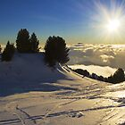 Skiing in Chamrousse by Sylvain Girard