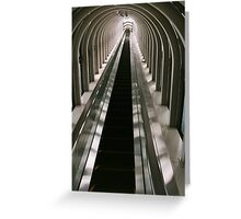 stairwell to paradise Greeting Card