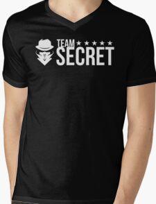 Team Secret Mens V-Neck T-Shirt