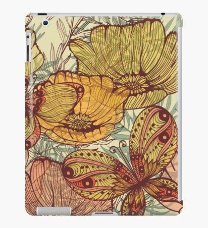 Butterflies retro iPad Case/Skin