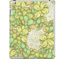 Green vintage ornament iPad Case/Skin
