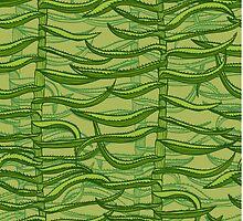 Aloe vera by Patternalized