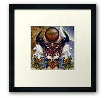 Abstract Mind Framed Print