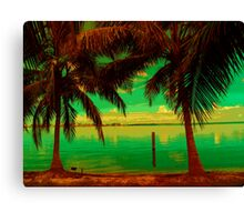 Tropic Nite Canvas Print