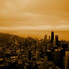 Chicago Skyline by johnsonKa21