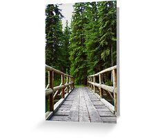 Come, walk with me Greeting Card