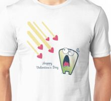 LOL funny scared monster anti Valentines Unisex T-Shirt