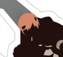 Gaius - Sunset Shores Sticker