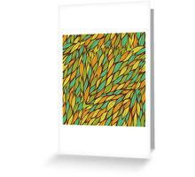 Hand drawn swirly pattern Greeting Card