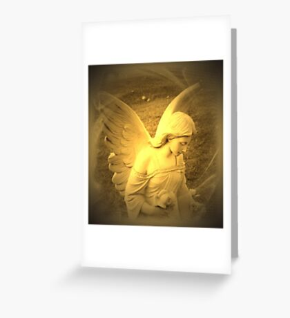 Angel Voices Say Greeting Card