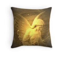 Angel Voices Say Throw Pillow