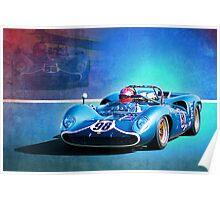 1966 Lola T70 Poster