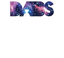 Space Kats | DABS SPACED VERSION | WAX BUDDER EARL HASH OIL DABS Photographic Print