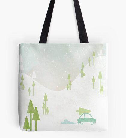 Winter Vacations Tote Bag