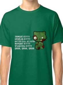 Zombie Kitty Classic T-Shirt