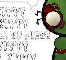 Zombie Kitty Sticker
