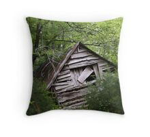 HAUNTED AND ASKEW Throw Pillow