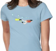 snorkelling Womens Fitted T-Shirt