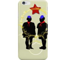 PIONEERS COMMUNIST MARX ENGELS LENIN iPhone Case/Skin