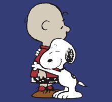 Charlie Brown Hugs Snoopy by Francerost