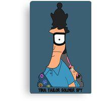 Tina Tailor Soldier Spy Canvas Print