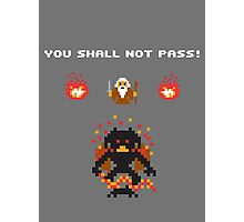 Retro Balrog Photographic Print