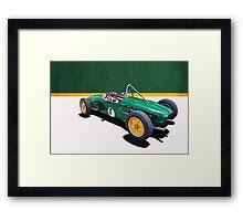 1960 Lotus 18 FJ Framed Print
