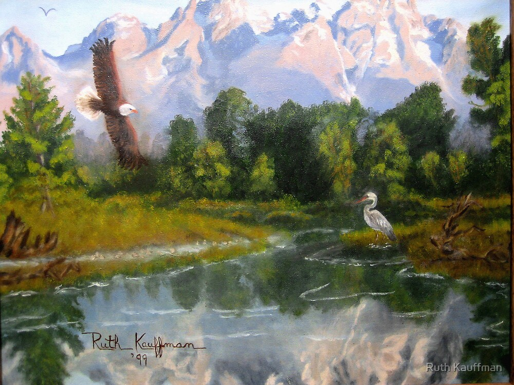 """Majestic Reflections"" by Ruth Kauffman"
