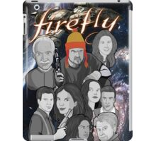 Firefly crew collage iPad Case/Skin