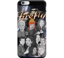 Firefly crew collage iPhone Case/Skin