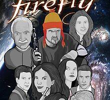 Firefly crew collage by gjnilespop