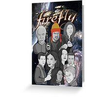 Firefly crew collage Greeting Card