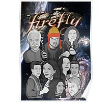 Firefly crew collage Poster