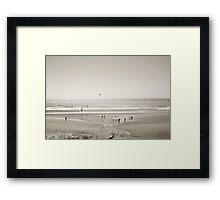 Oregon seascape Framed Print