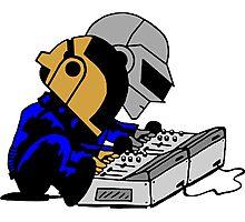 Daft Punk Peanuts Photographic Print