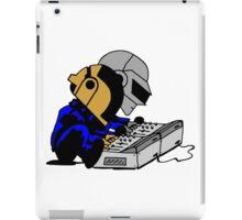Daft Punk Peanuts iPad Case/Skin