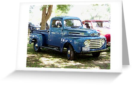 1948 Ford Pick Up Truck by Glenna Walker