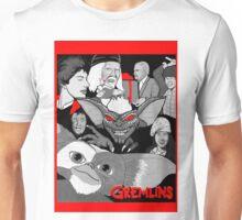 Gremlins 30th anniversary print Unisex T-Shirt