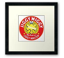 Jiggywiggy The Original Jiggy Master Framed Print