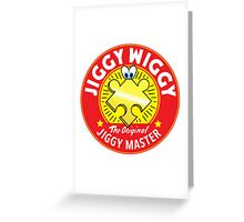 Jiggywiggy The Original Jiggy Master Greeting Card