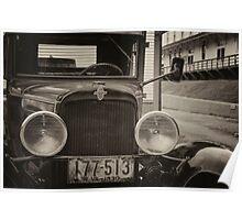 Vintage Chevrolet Truck Poster