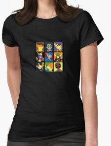 Fun pop Womens Fitted T-Shirt