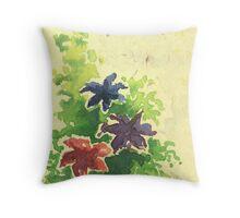 Watercolour flower Throw Pillow