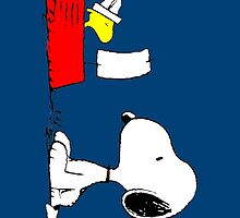 Woodstock & Snoopy by Francerost