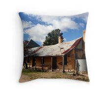 Historic Housing Throw Pillow