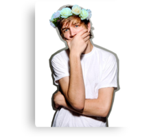 Bo Burnham Flower crown Canvas Print